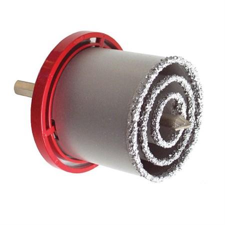 Vrtáky vykružovací s karbidovým ostřím, sada 3ks ∅33-53-73mm EXTOL PREMIUM
