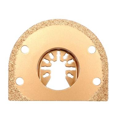 Segmentový pilový list pro multifunkční nářadí HM, 70mm (obklady, beton, skelné vlákno) YT-34682