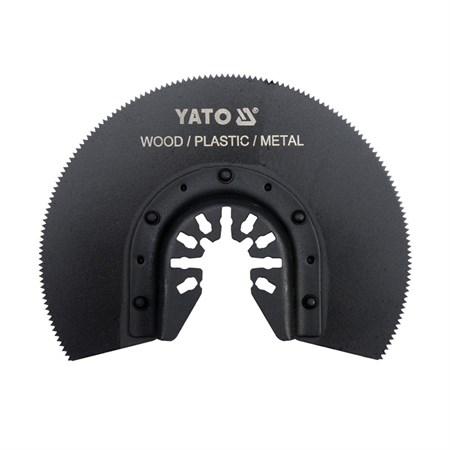 Segmentový pilový list pro multifunkční nářadí HSS, 88mm (dřevo, plast, kov)