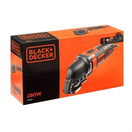 Multifunkční přístroj BLACK & DECKER 280W, 8ks příslušenství, taška MT280BA-QS