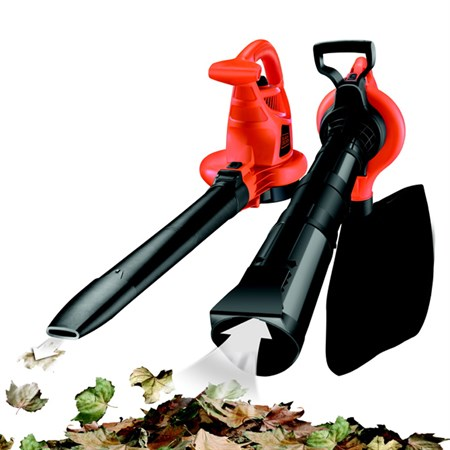 Zahradní vysavač/fukar/drtič BLACK & DECKER 3v1 2800W