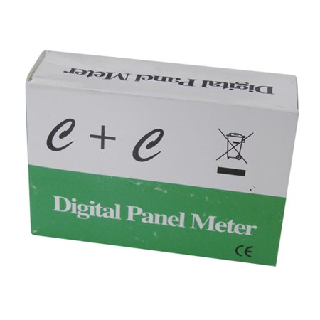 Panelové měřidlo 199,9mV PM435 LCD voltmetr panelový digitální