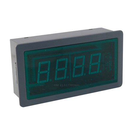 Panelové měřidlo 5A WPB5135-DC ampérmetr panelový digitální