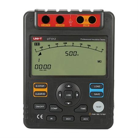 Tester izolace UNI-T  UT512 2.5kV, USB