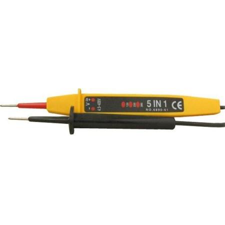 Zkoušečka AC110-400V/DC150-500V s indikací polarity