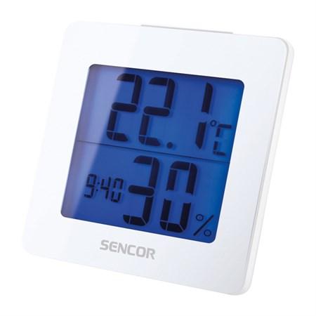 Teploměr SENCOR SWS 1500 W s hodinami