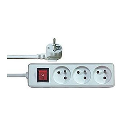 Prodlužovací kabel s vypínačem 3 zásuvky  1,5m