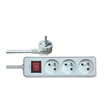 Prodlužovací kabel s vypínačem 3 zásuvky  3m .