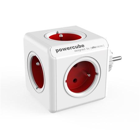 Zásuvka PowerCube ORIGINAL červená