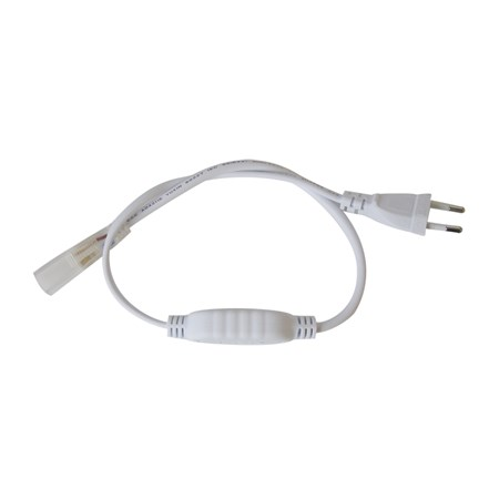 Flexo šňůra PVC pro led pásky 5050, 230V, 0.5m