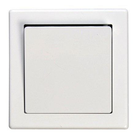 Vypínač Jowa č. 6 střídavý - schodišťový bílý