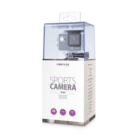 Kamera akční Ultra HD 4K, LCD 2'', WiFi, voděodolná 30m FOREVER SC-400