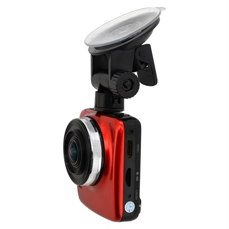 Kamera do auta Full HD 2,4'' červená GPS