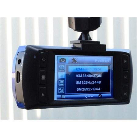 Kamera do auta Full HD 2,7'' modrá