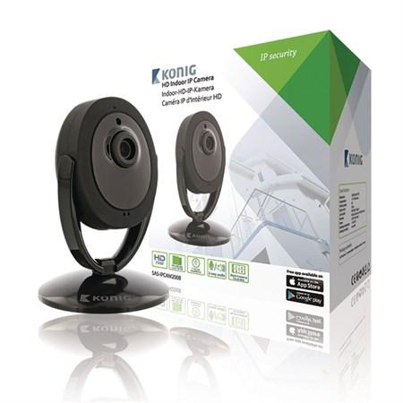 Kamera IP WiFi KÖNIG SAS-IPCAM200B vnitřní