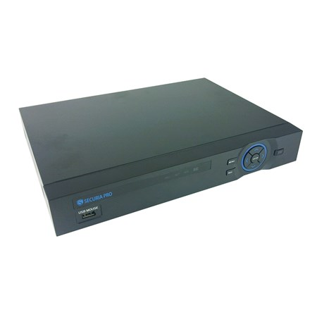 Kamera set SECURIA PRO AHD4CHV1/1TB-W 720P 4CH DVR + 4x IR CAM + 1TB HDD analog