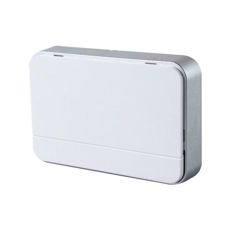 Zvonek domovní bezdrátový 1L41 2xAA baterie, nastavení hlasitosti, bílý