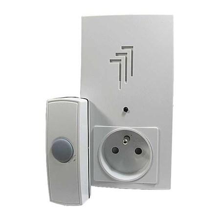 Domovní bezdrátový zvonek Kangtai do zás. 230V AC, DING-DONG