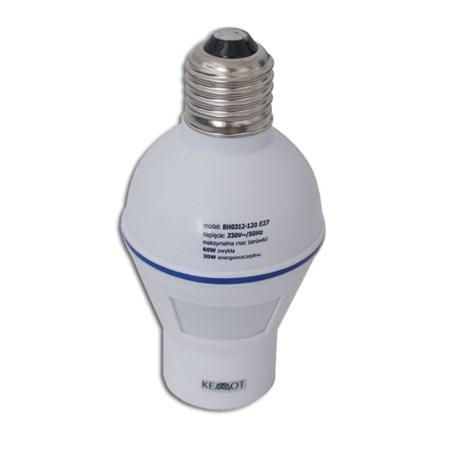 PIR senzor (pohybové čidlo) objímka 120st.