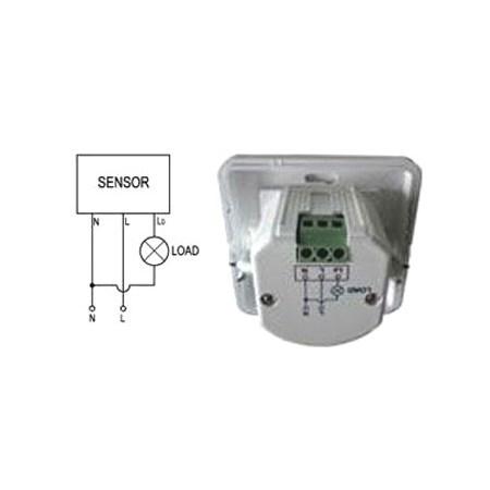 PIR senzor (pohybové čidlo) nástěnné LXS-21UP 3vodiče