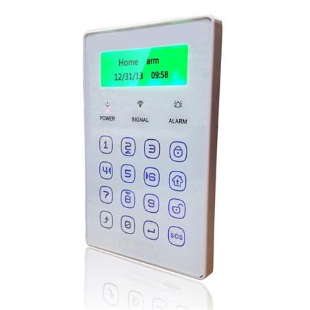 Klávesnice iGET SECURITY P13 LCD bezdrátová