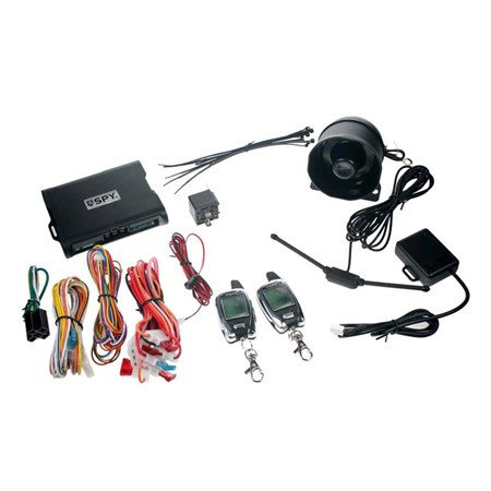 Autoalarm SPY 2-WAY CAR, 2x LCD ovladač