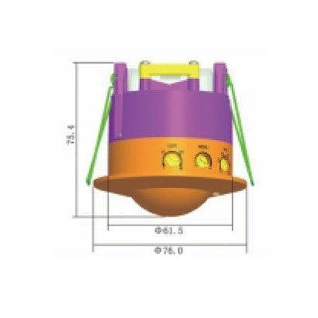 Mikrovlnný senzor (pohybové čidlo) ST753 stropní