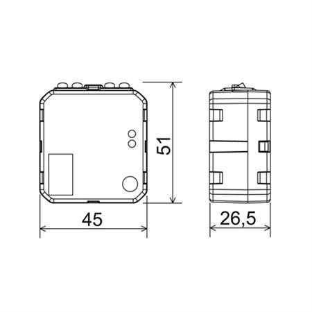 Časový spínač CS3-16 multifunkční