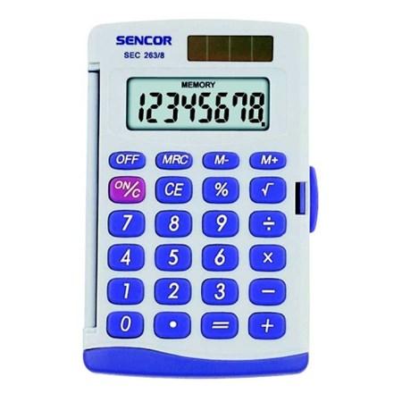 Kalkulátor kapesní SENCOR SEC 263/ 8 DUAL