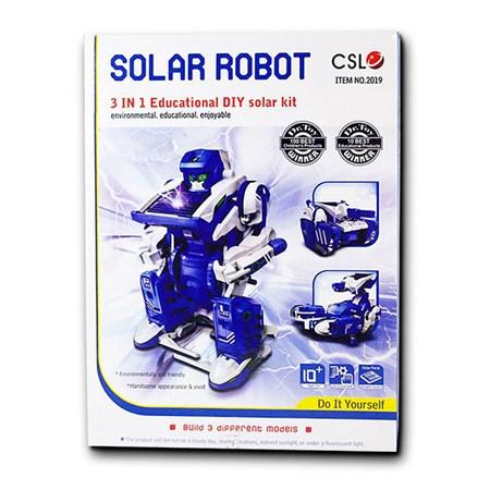 Solární stavebnice SolarKit 3v1 (Solarbot)