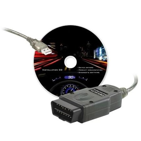 OBDLink SX diagnostika + CZ program TouchScan