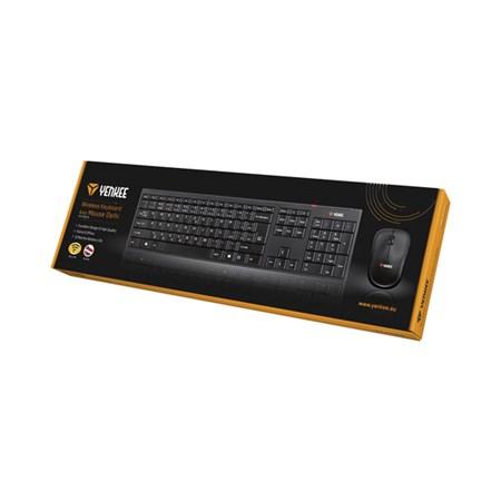 PC Klávesnice YKB 2005CS WL Delhi YENKEE + bezdrátová myš