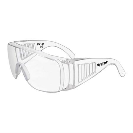 Brýle ochranné polykarbonát univerzální velikost, čirý, panoramatický zorník třídy F EXTOL CRAFT