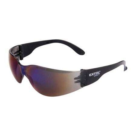 Brýle ochranné, modré, EXTOL CRAFT