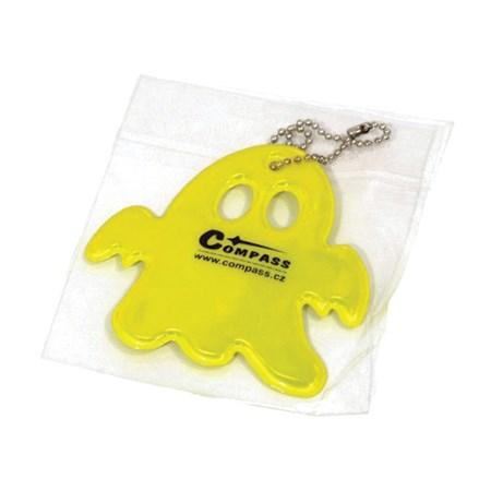 Reflexní přívěšek GHOST S.O.R. žlutý