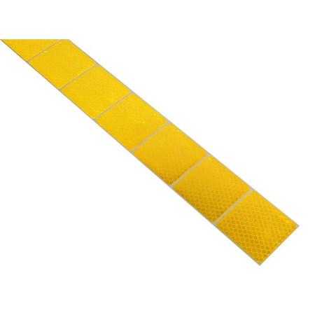 Samolepící páska reflexní dělená 1mx5cm žlutá