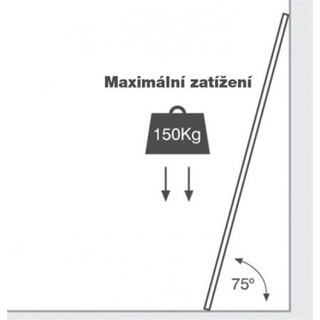 Žebřík/štafle hliníkový teleskopický G21 GA-TZ12-3,8M