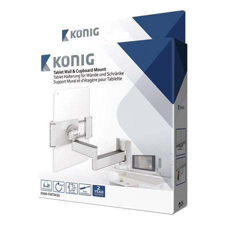 Držák na tablety KÖNIG KNM-FMTM30 nástěnný