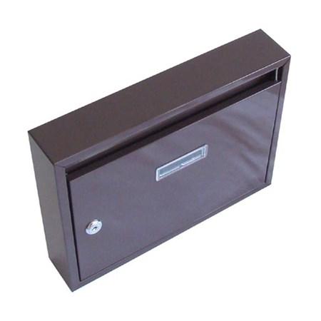 Schránka poštovní G21 320 x 240 x 60 mm, hnědá