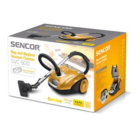Vysavač SENCOR SVC 900-EUE2  2v1