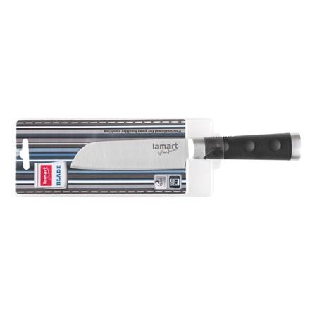Nůž kuchyňský LAMART LT2025 SS/SOFT Santoku nerez