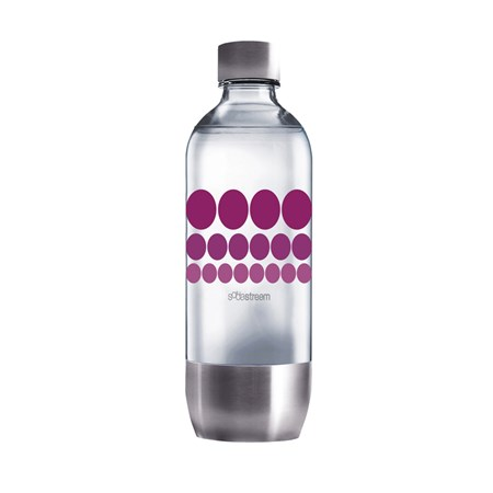 Sodastream láhev 1l PURPLE METAL