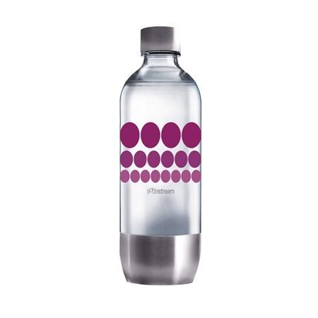 Sodastream láhev 1l PURPLE METAL
