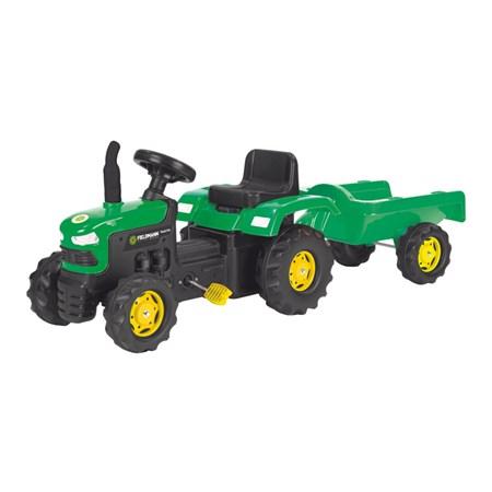 Traktor šlapací  s vozíkem BUDDY TOYS BPT 1012