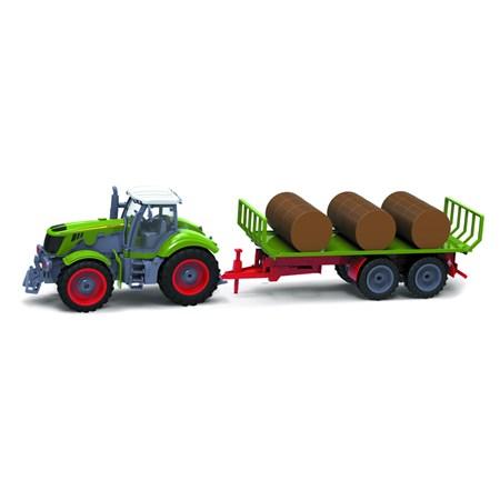 RC model traktor + vlečka BUDDY TOYS BRC 28.622