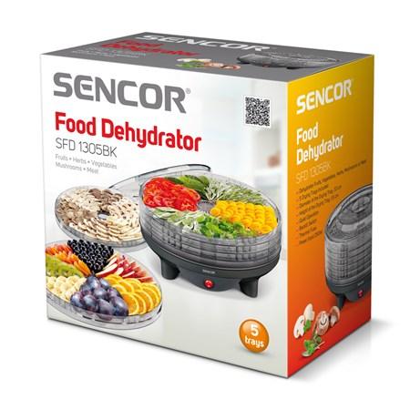 Sušička ovoce SENCOR SFD 1305BK