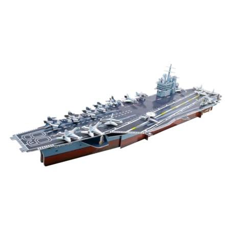 Puzzle 3D letadlová loď Nimitz,  papírové