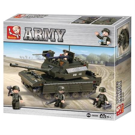 Stavebnice SLUBAN ARMY TANK M38-B6500