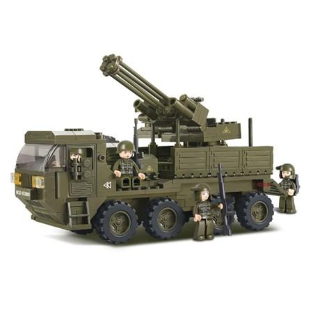 Stavebnice SLUBAN ARMY PROTILETECKÁ ZÁSAHOVÁ JEDNOTKA M38-B0302