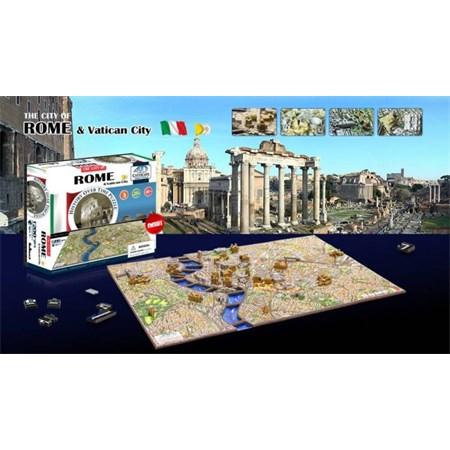 Puzzle 4D CITY ŘÍM & VATIKÁN